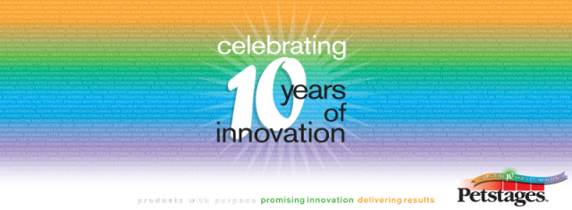 Petstages Celebrates 10 Years of Innovation
