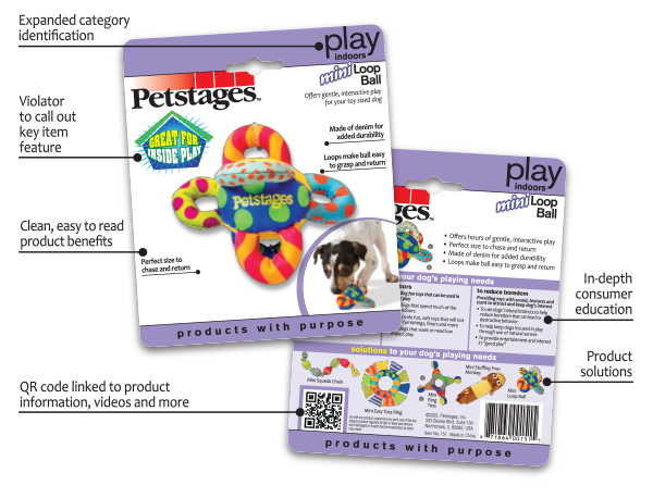 New Petstages Packaging